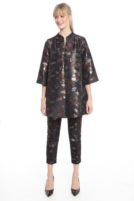 Spolverino in jacquard lurex Fashion Market