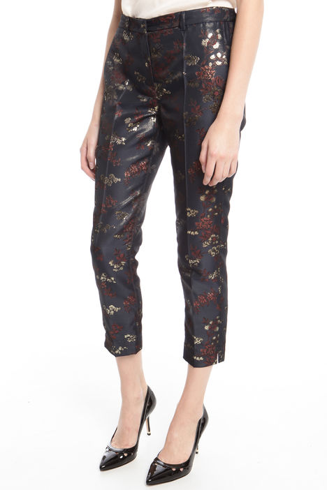Pantalone in jacquard lurex Fashion Market