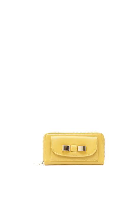 Portafoglio con fiocco gold Fashion Market