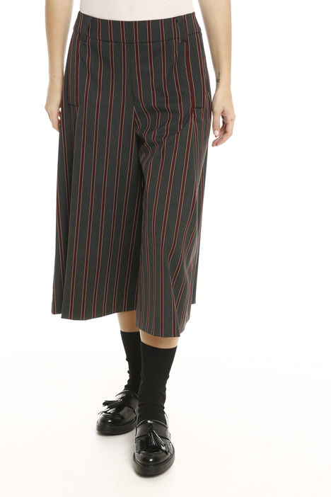 Pantalone cropped a motivo Fashion Market