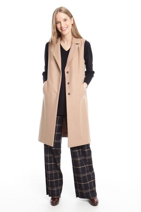 Gilet lungo in panno Fashion Market