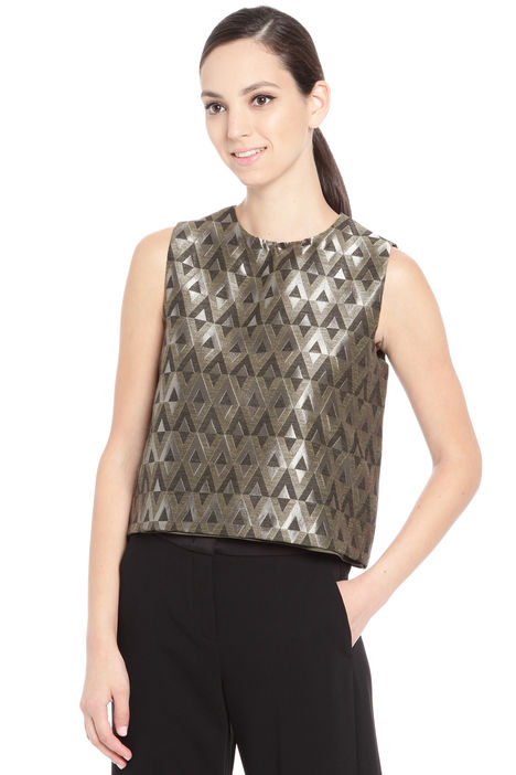 Top in tessuto jacquard Fashion Market
