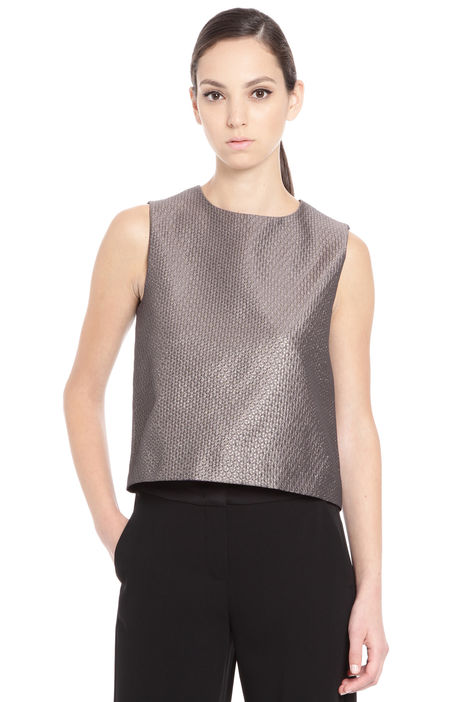 Top in tessuto jacquard Fashion Market