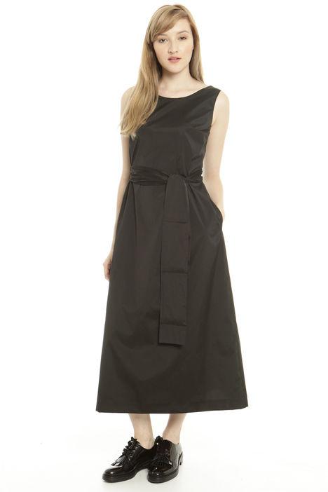 abito lungo in taffetà Fashion Market