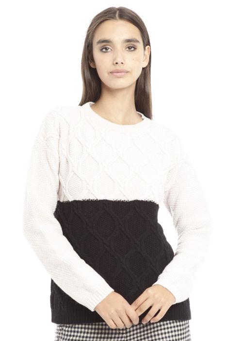 Maglia bicolore Fashion Market
