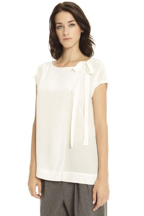 T-shirt bimateriale Fashion Market