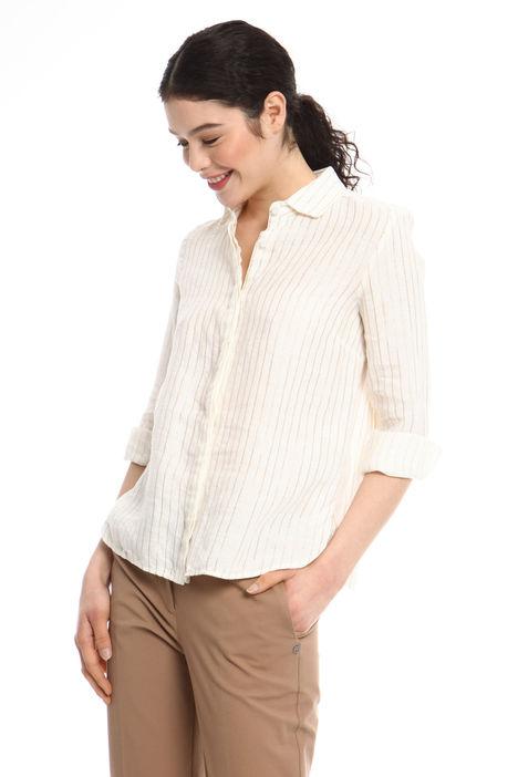 Camicia in lino e lurex Fashion Market