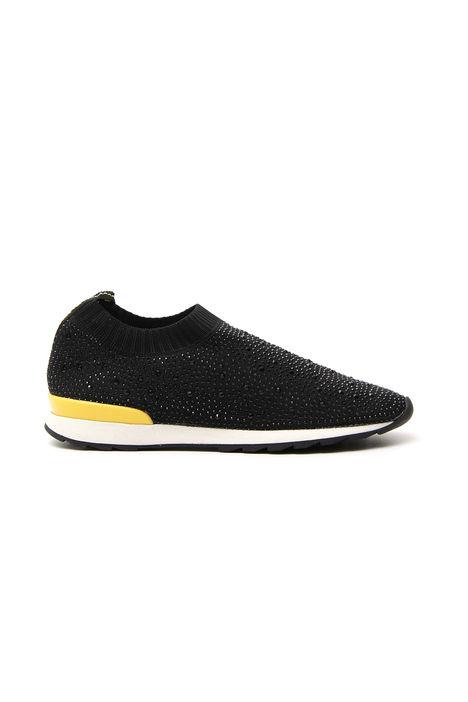 Sneakers con strass applicati Fashion Market
