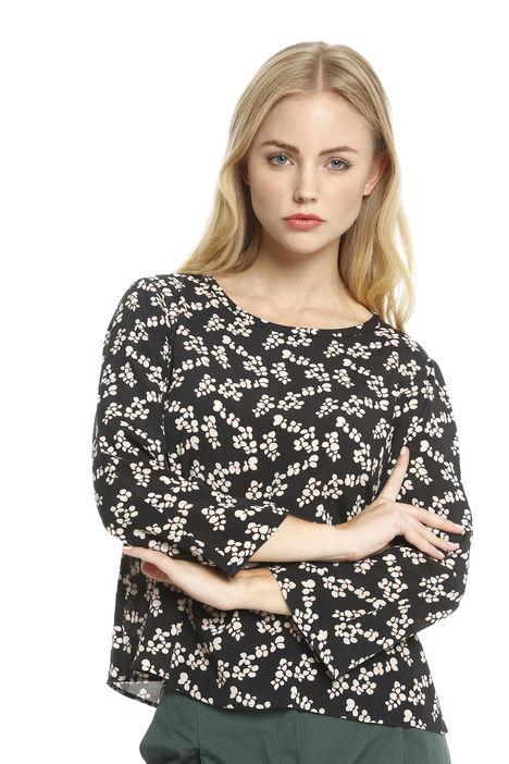 Blusa in viscosa stampata Fashion Market