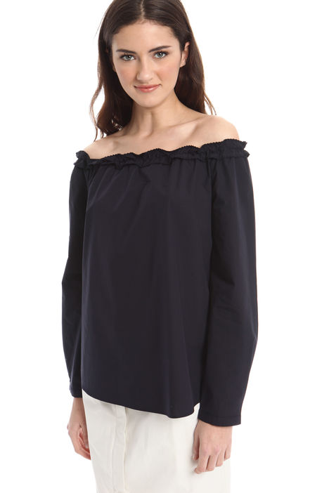 Blusa con spalle scoperte Fashion Market
