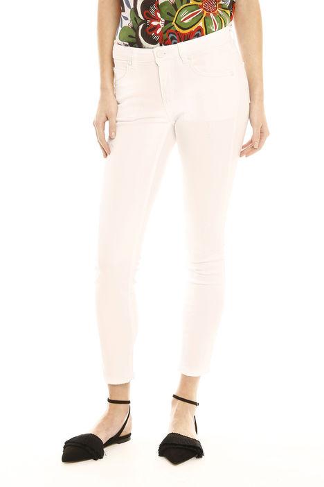 Pantaloni skinny in drill Fashion Market