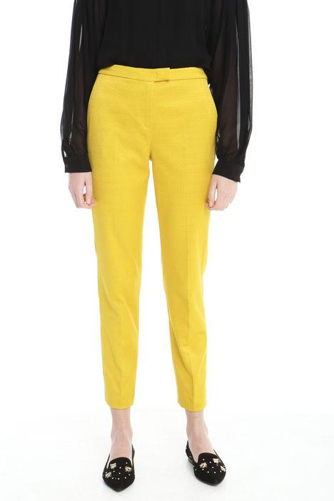 Pantalone lungo jacquard Fashion Market