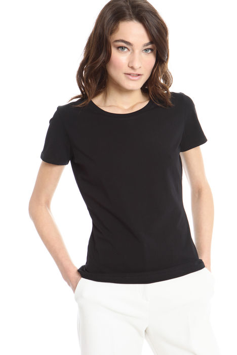 T-shirt basic in cotone Fashion Market