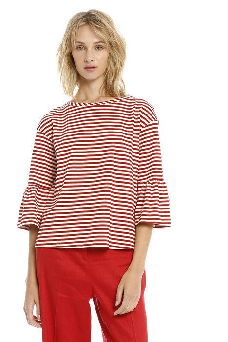 T-shirt in righe lurex Fashion Market