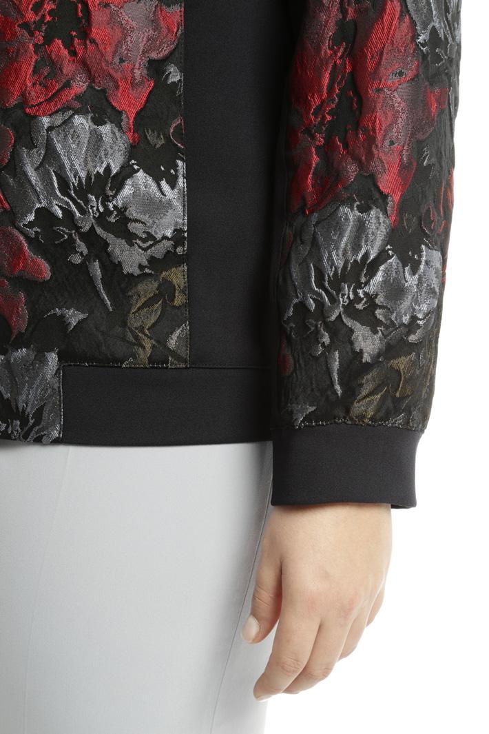 Giacca bomber jacquard Fashion Market