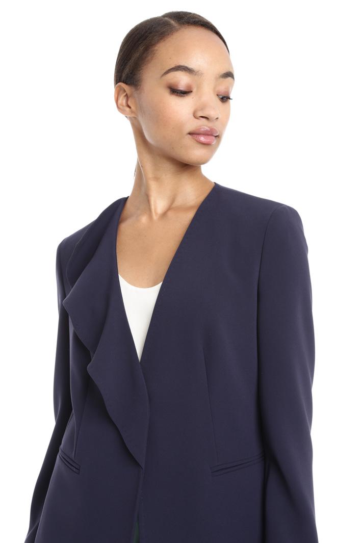 Blazer con rever singolo Fashion Market