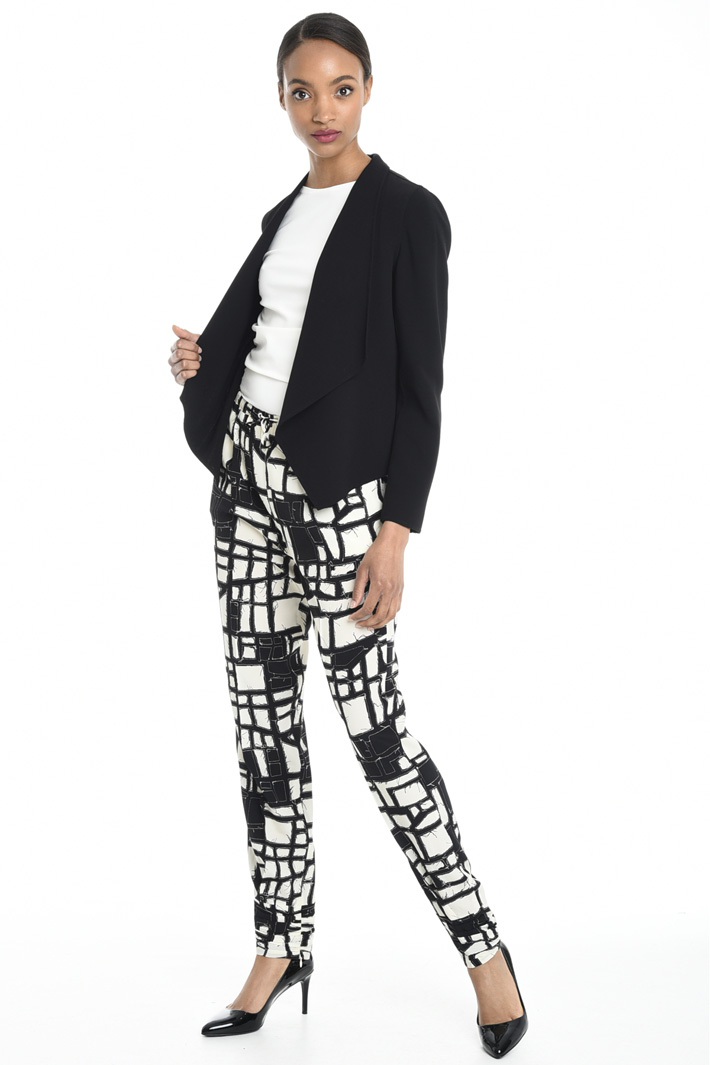 Giacca con maxi revers Fashion Market