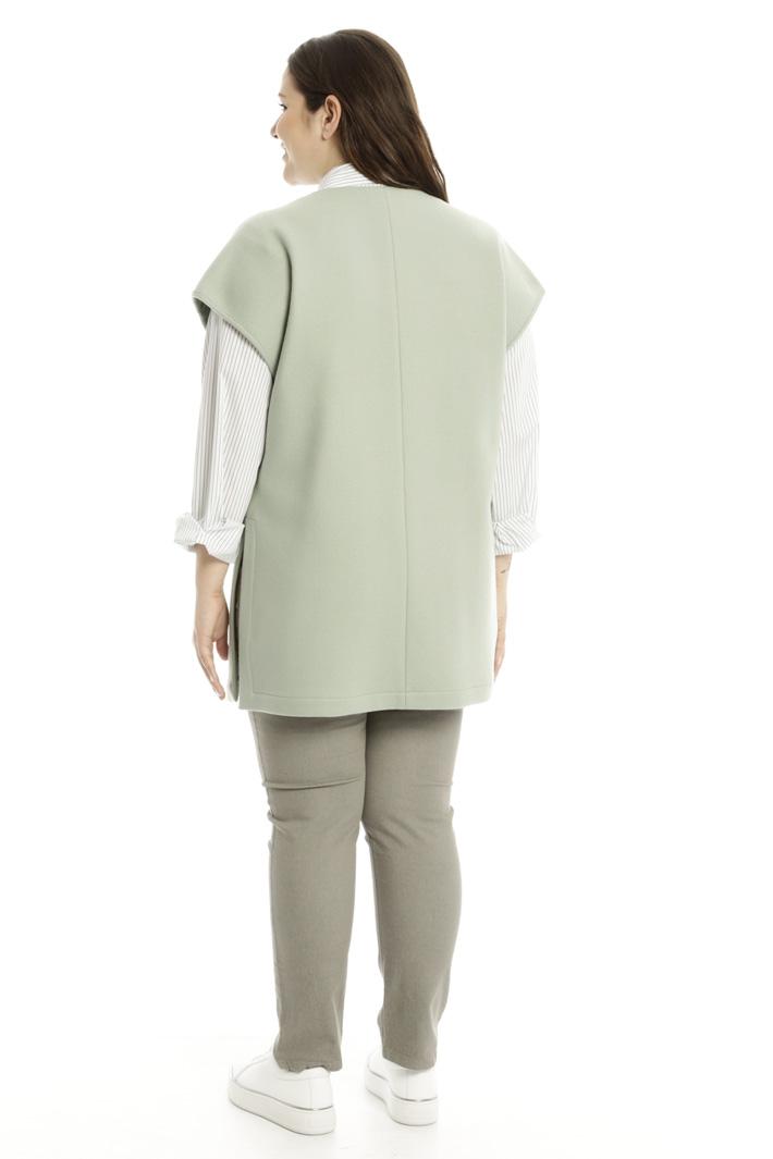 Giacca in velour di lana Fashion Market