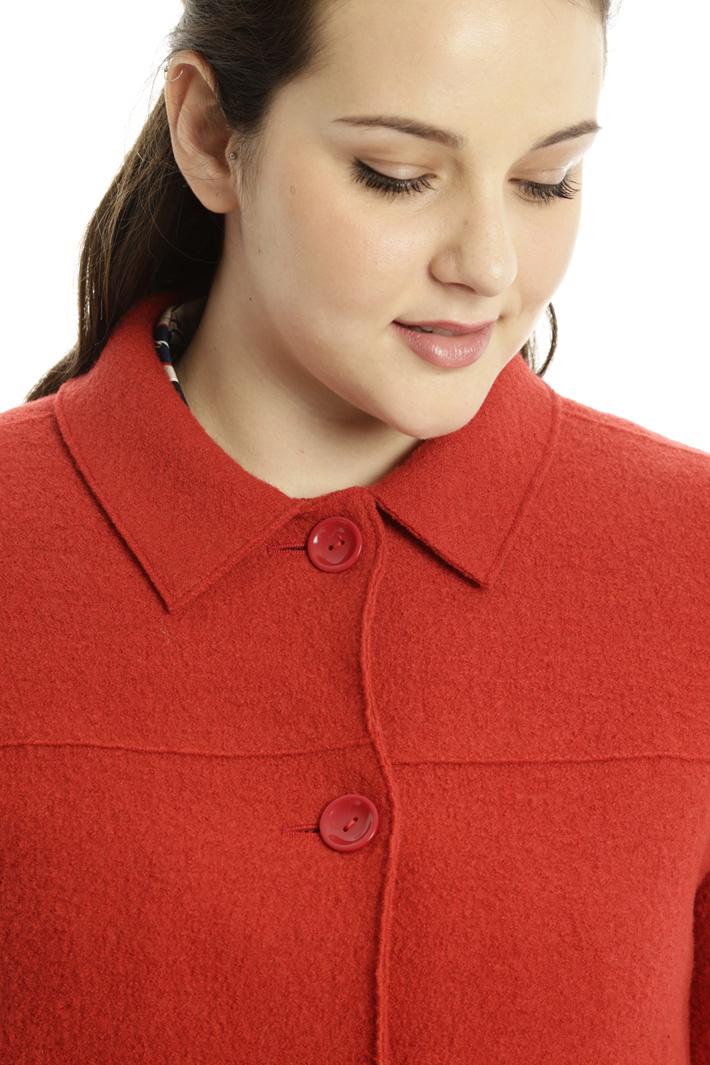 Capospalla in lana cotta Fashion Market