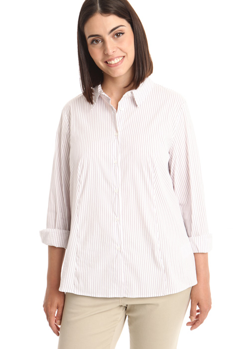 Camicia in popeline stretch Fashion Market