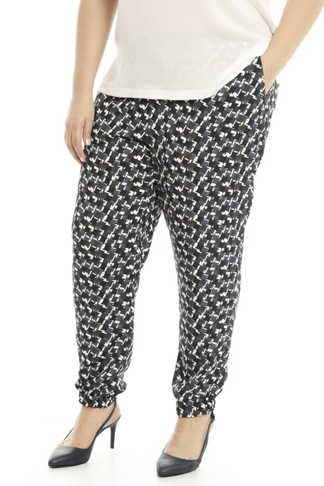 Pantalone jogging in cady Fashion Market
