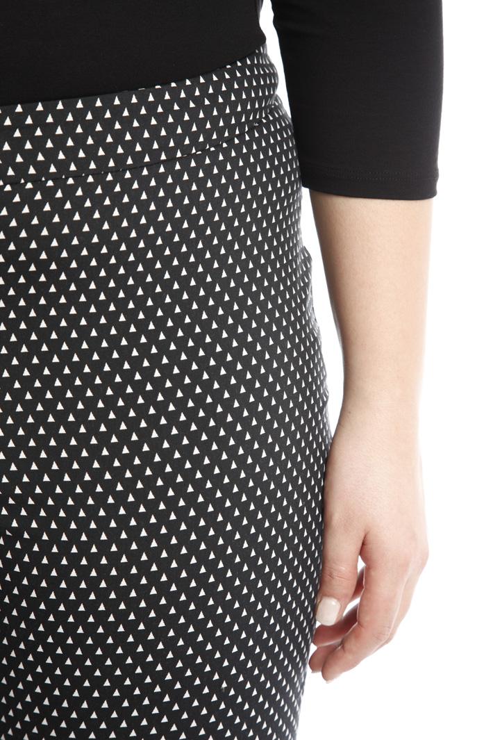 Pantalone aderente a fantasia Fashion Market
