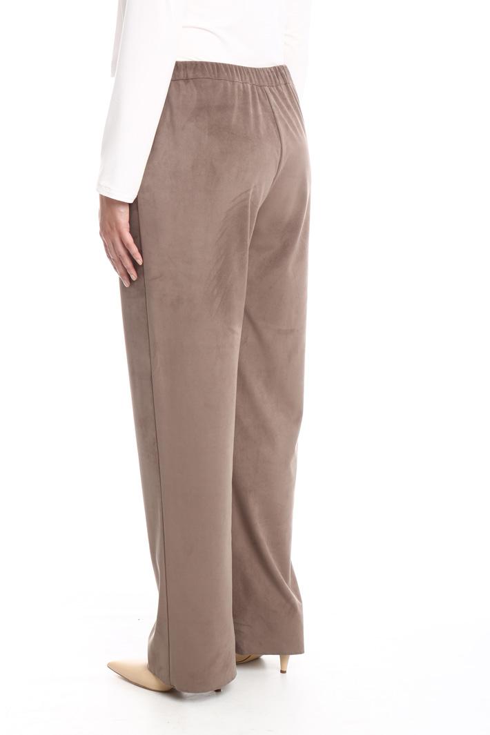 Pantalone effetto camoscio Fashion Market