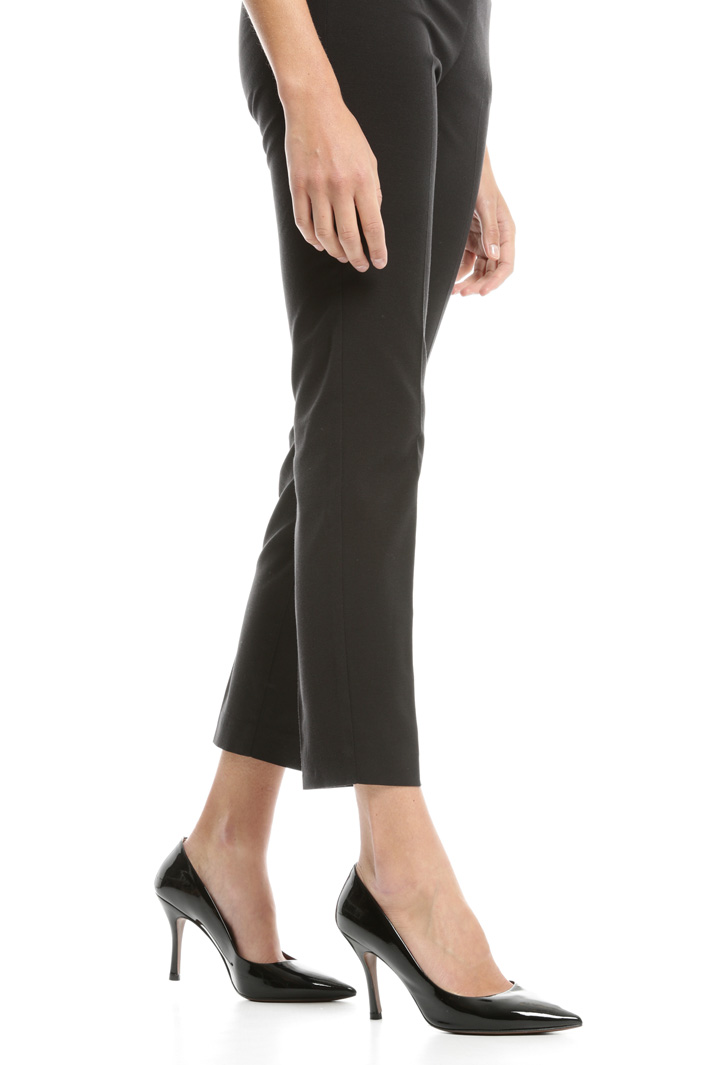 Pantaloni in faille stretch Fashion Market