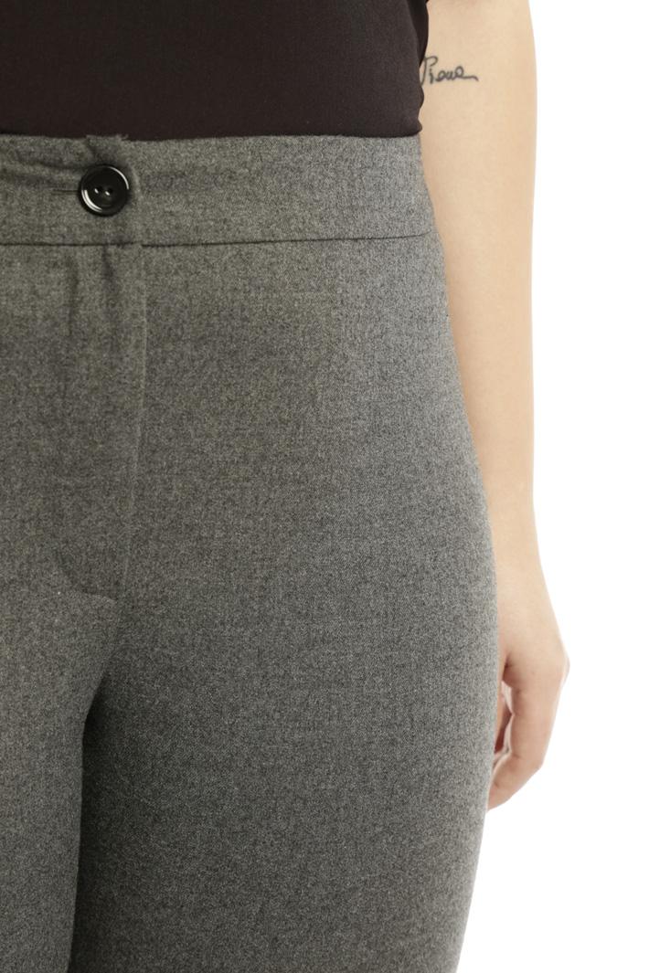 Pantalone aderente in flanella Fashion Market