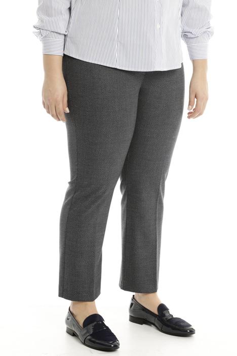 Pantalone dritto in viscosa Fashion Market
