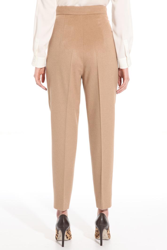 Pantalone in drap di cammello Fashion Market