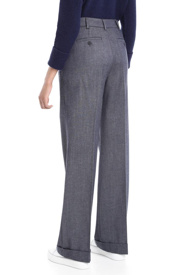 Pantaloni in lana vergine Fashion Market