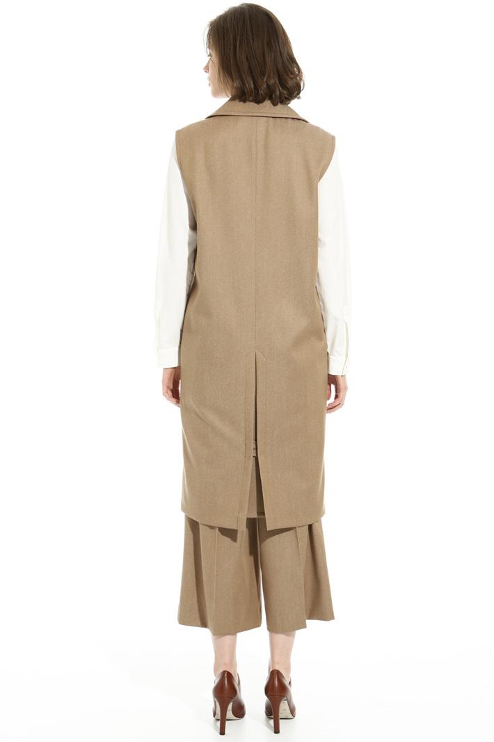Trench in lana vergine Fashion Market