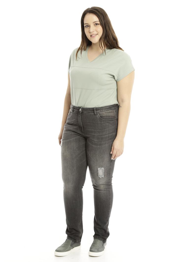 Jeans con ricami Fashion Market