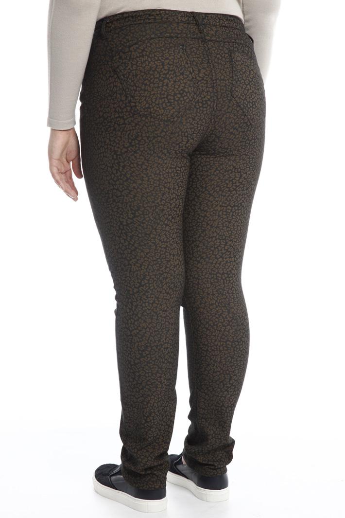 Pantalone in denim stampato Fashion Market
