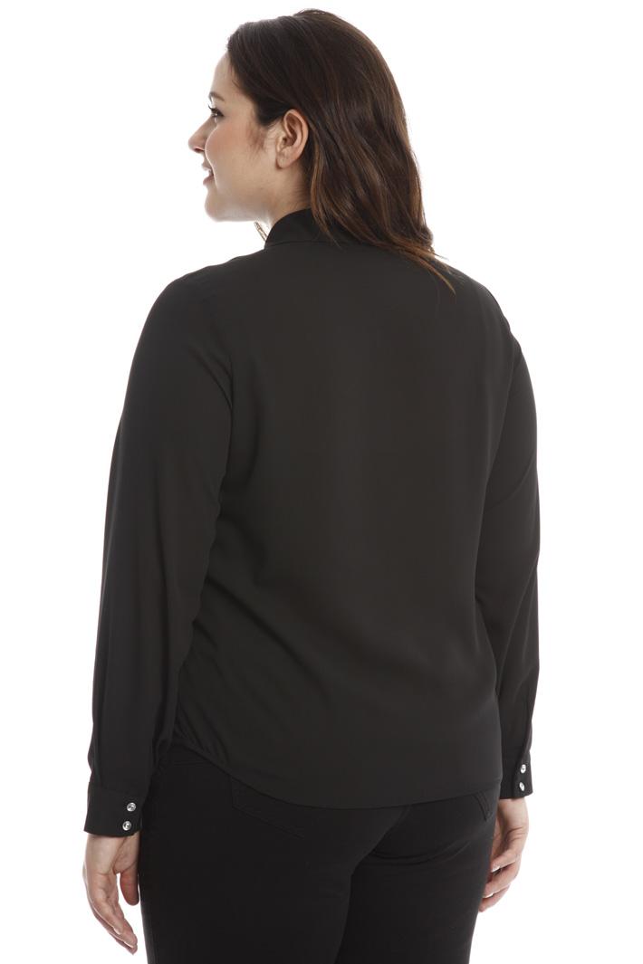 Camicia con ricami in pizzo Fashion Market