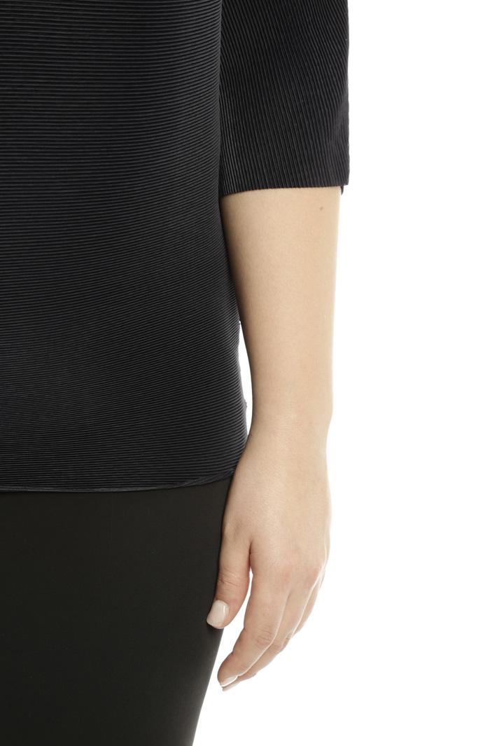 Casacca over in tessuto plissé Fashion Market