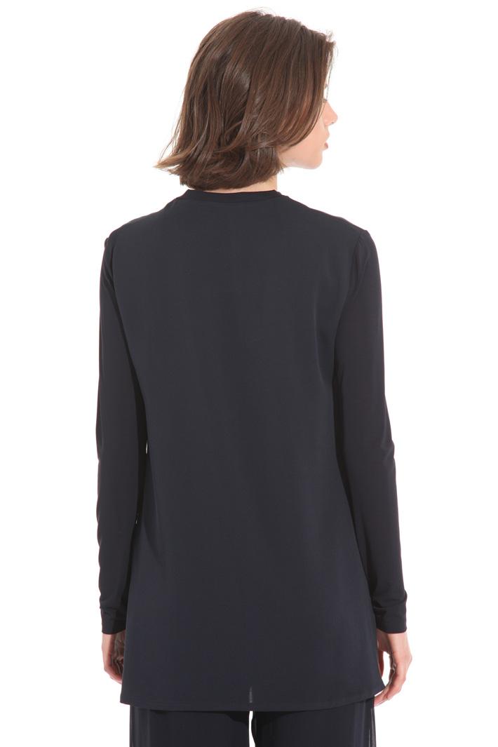 Casacca in jersey e crepe Fashion Market