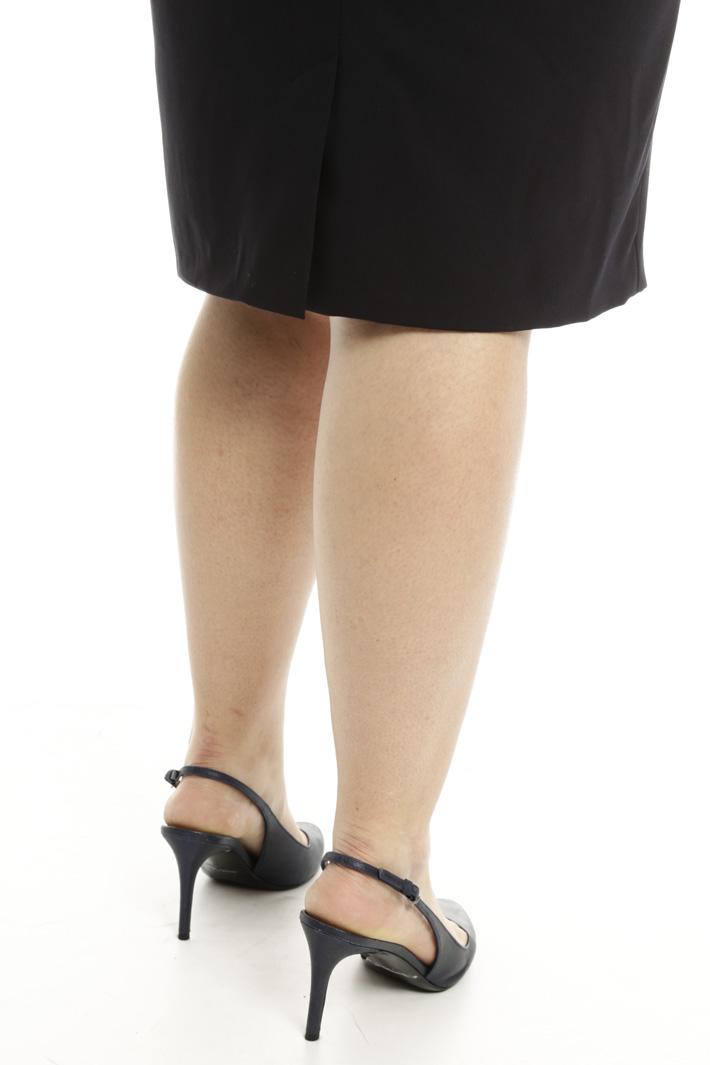 Tubino con ricamo gioiello Fashion Market