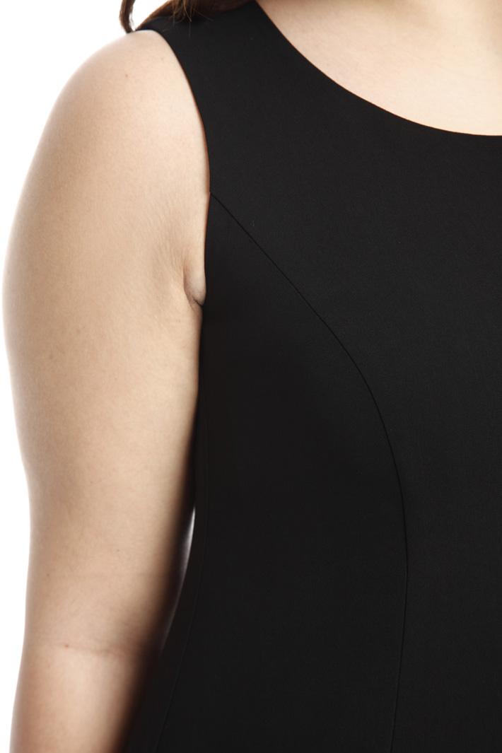 Tubino nero smanicato Fashion Market