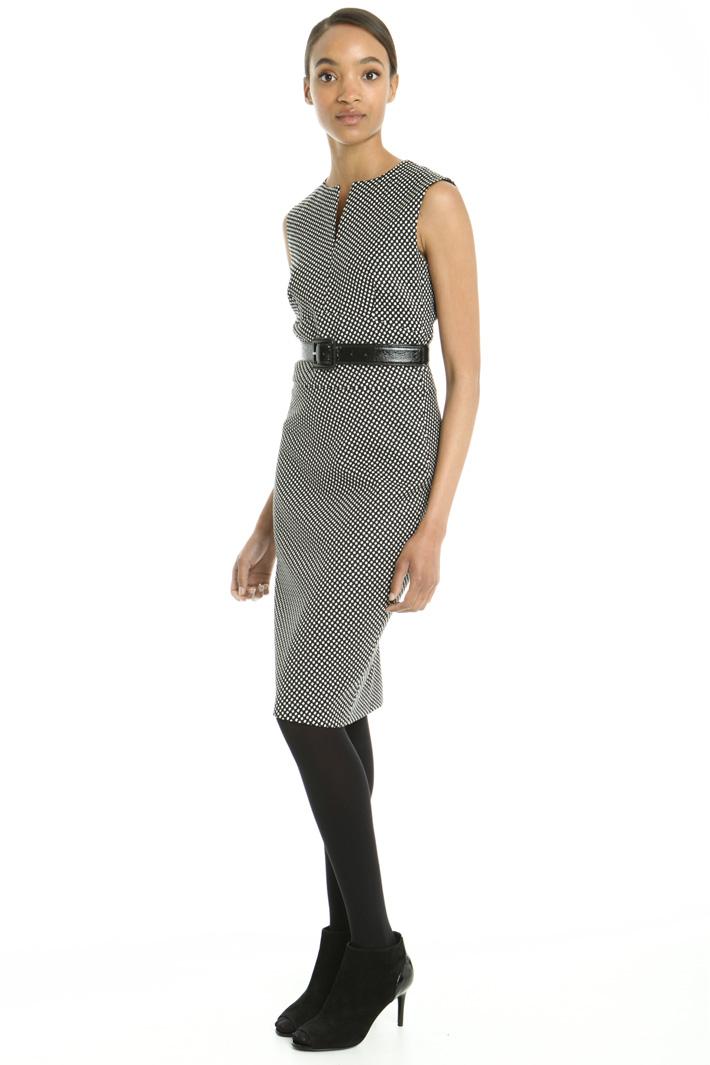 Tubino in lana jacquard Fashion Market
