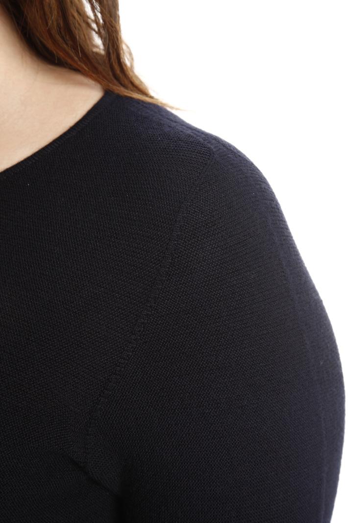 Mini abito in maglia di lana Fashion Market
