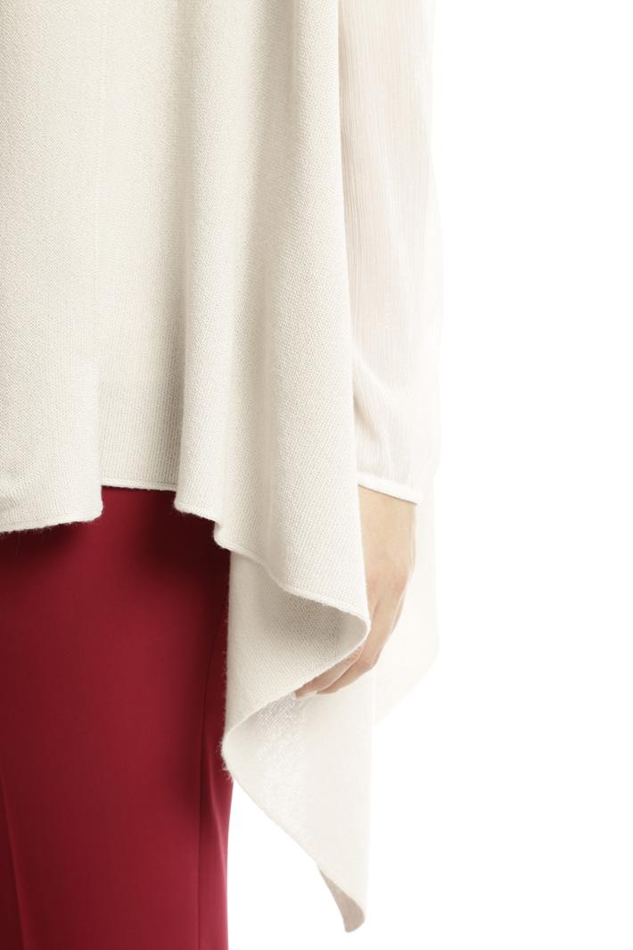 Gilet lungo in misto lana Fashion Market