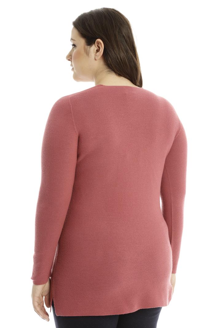 Maglia in lana punto links Fashion Market