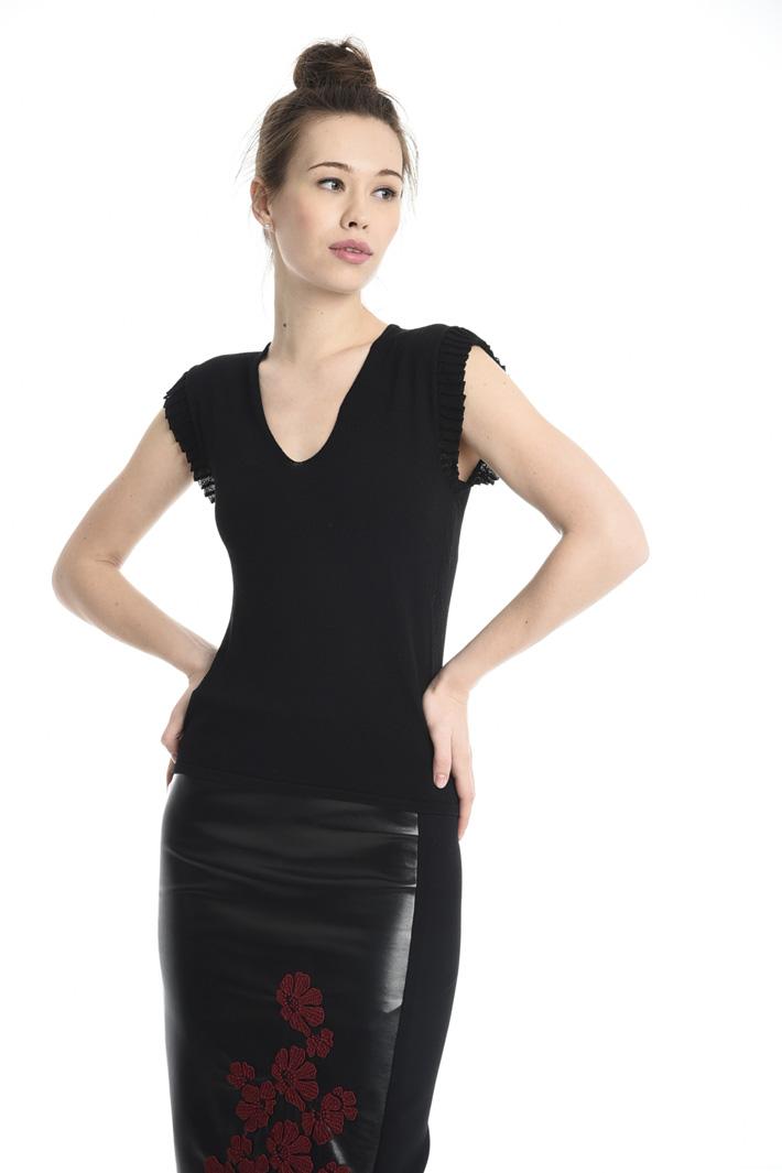 Top in maglia Fashion Market