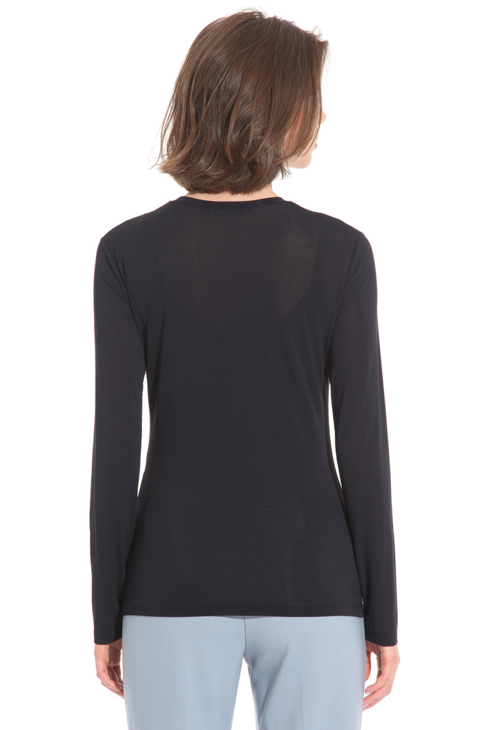 T-shirt in jersey crepe Fashion Market