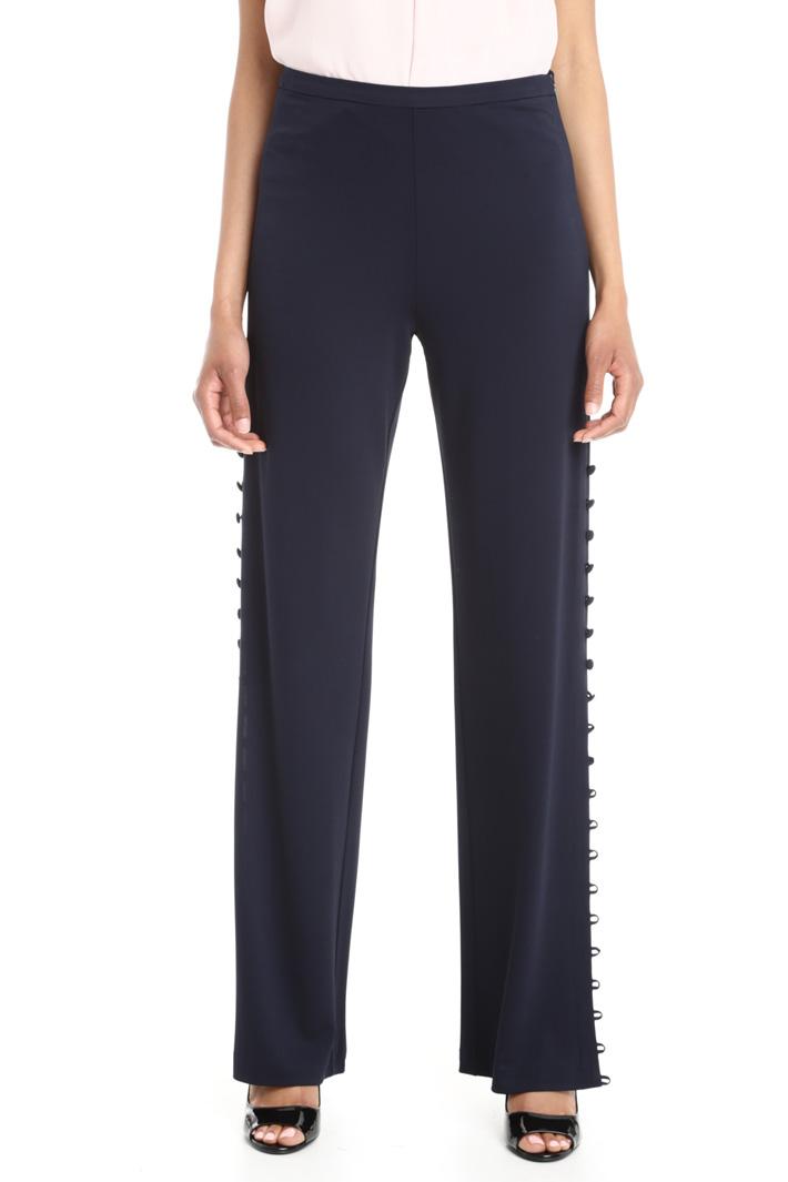 Pantaloni con bottoni laterali Fashion Market