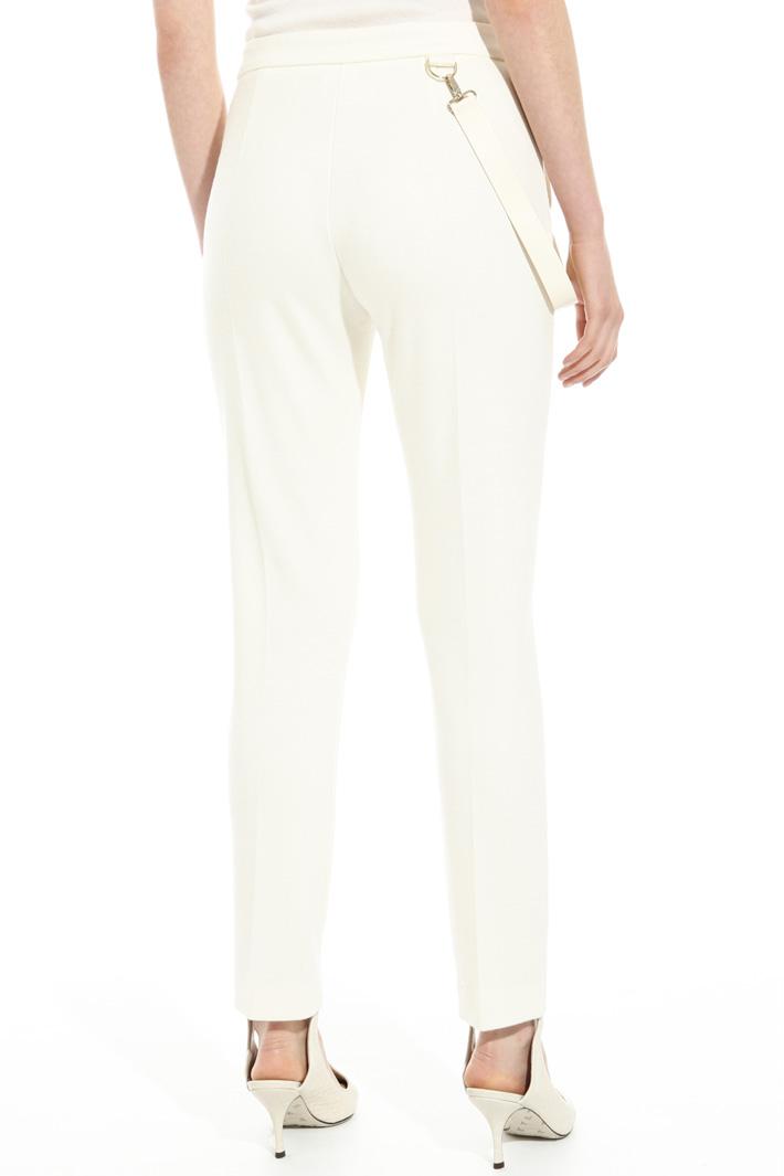 Pantalone in jersey di lana Fashion Market