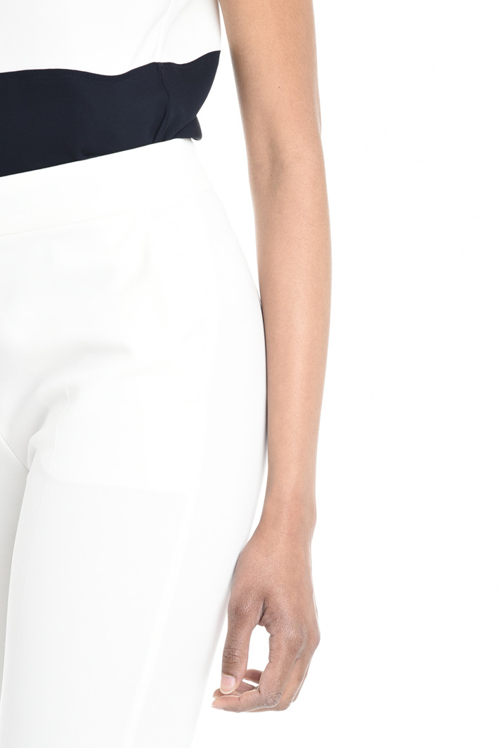 Pantalone con bottoni al fondo Fashion Market