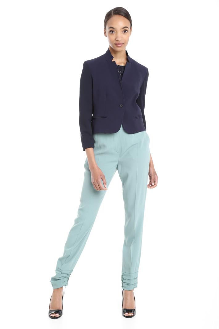 Giacca corta in viscosa Fashion Market